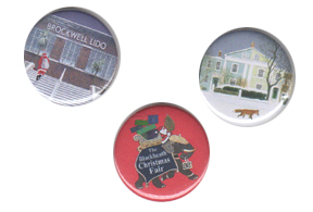 Christmas Party Badges - Your Design