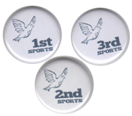 Sports Day Badges 1st 2d and 3rd