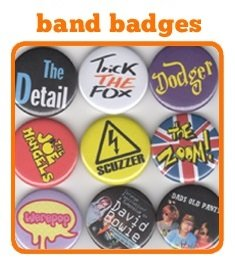 Button Badges for Bands