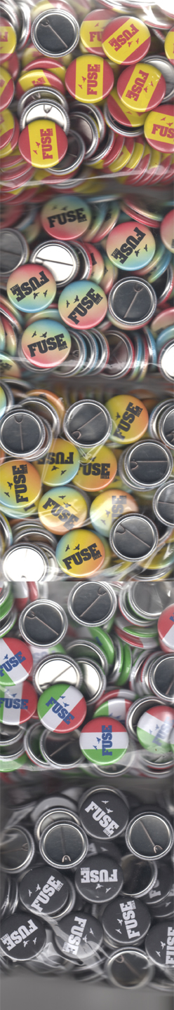 Fuse badges - multiple designs at no extra charge!