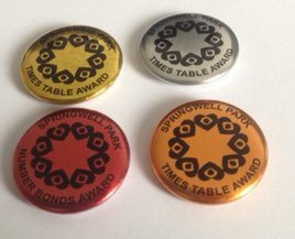 Metallic Badges